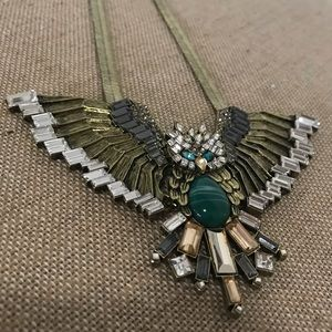 Owl in Flight Statement Necklace 🦄